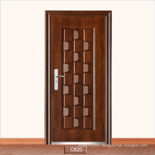 Wholesale Cheap Price Commercial Apartment Morden Front Steel Entry Door