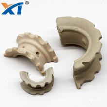 industrial ceramic random packing 1inch 1.5inch 2inch 3inch ceramic super intalox saddles