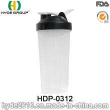 BPA livram a garrafa plástica do pó da proteína, 700ml recentemente garrafa plástica da agitação com bola do Ss (HDP-0312)