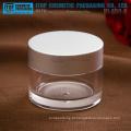 KJ-A50-A 50g alto brilho metal agradável e high-end alta clara, grossa e dura 50g de natas jar