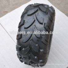 pneus tubeless solides 18x9.50-8 atv