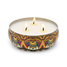 100% Natural Soy Wax Citronella Candles For Relaxing