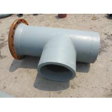 Pipa transportadora de ceniza resistencia desgaste bimetálica