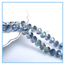 new colors faceted crystal glass beads rondelle beads