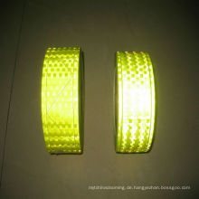 Billiges leuchtendes selbstklebendes reflektierendes Kugelpvc-Band