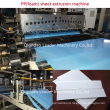 Folha da espuma dos PP / máquina de factura de placa