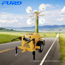 Портативный генератор мобильных переносных телескопических светодиодных электрических осветительных мачт FZMTC-1000B