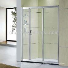 paroi de douche en verre trempé salle de bain D22