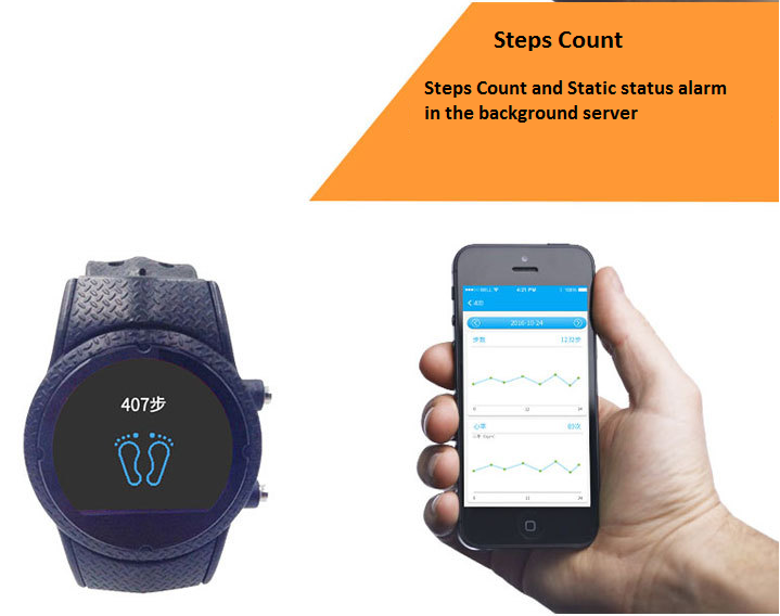 GPS Watch Locator Posicionamiento Personal Tracker Phone