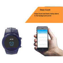 GPS Watch Locator Posicionamento Personal Tracker Phone