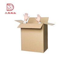 Latest portable disposable custom corrugated carton box shipping