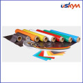 Aimant spécial en caoutchouc doux flexible industriel avec PVC coloré