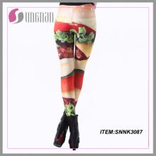 2015whloesale personalizada impresa Leggings Sexy Fitness para niñas