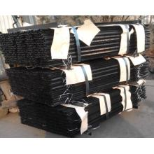 Pitch Coated Fence Picket, Y-Stake, T-Post