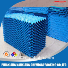 Quality Spindle Fills / Cross-flow forming cooling tower pvc fills