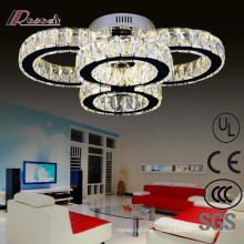 Европейский отель декоративные светодиодные Кристалл Потолочный светильник