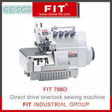 New Design Drict Drive Overlock Sewing Machine Fit 798d