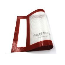Alfombrilla para hornear de silicona de tamaño completo personalizada para parrilla