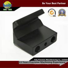 Черный пластик Филированные CNC частей CNC пластичный изготовленный на заказ подвергать механической обработке CNC