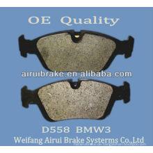 Saubere Bremsbeläge D558 für BMW