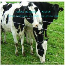 Galvanized Cattle Mesh Fence / Metal Livestock Farm Fence