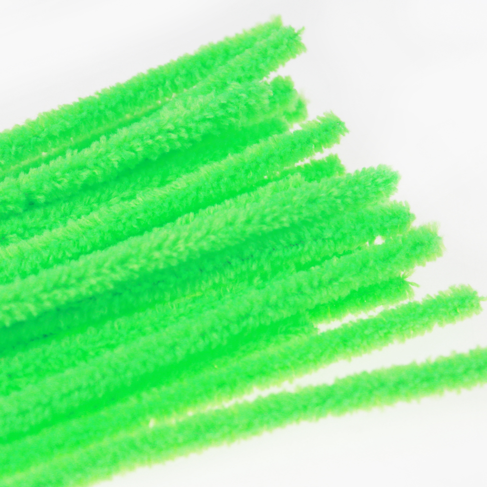 Green Hand craft Chenille Tige pour enfants Bricolage