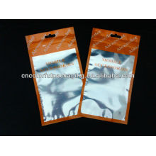 saco de plástico para o iphone 4g / sacos de empacotamento da bateria do telefone móvel