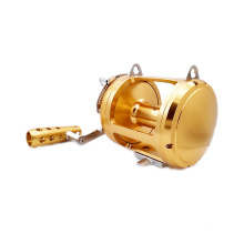 FSTR050_1 8BB Todos Metal de Alta Qualidade 2 Velocidade Big Game Carretel De Pesca Corrico