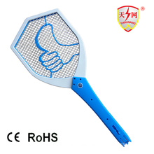 High Voltage Rechargeable Mosquito Bat with Cleaning Brush