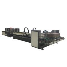 Super quality carton box flexo folder gluer for corrugated box machine