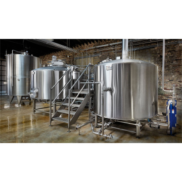 500L 2 سفينة Crafting Brewhouse SUS304 Nanobrewery
