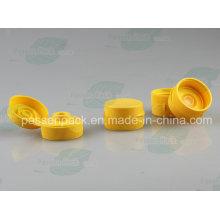 38/400 Gelbe Silikon-Ventilkappe für Plastik-Squeeze-Shampoo-Flasche (PPC-PSVC-004)