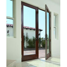 Алюминиевая дверь с двойным остеклением класса Vantage