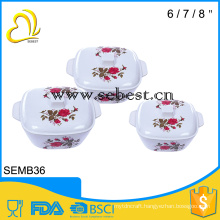 houseware melamine soup bowl with lid