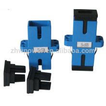 3dB 5dB 10dB 15dB SC APC UPC PC adaptor type fixed attenuator with cheap price