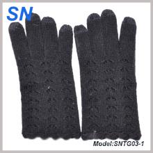 Nuevos guantes de señora Texting Wool de la manera para el iPad, iPhone (SNTG03-1)