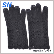 New Fashion Lady Texting Wool Gloves for iPad, iPhone (SNTG03-1)