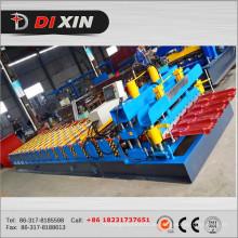 828 Galvanisiertes Dachblech glasierte Fliesenrollenformmaschine