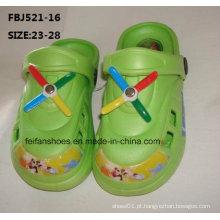 Últimas Design EVA Jardim Sapatos Chinelos Moda para Crianças (FBJ521-16)