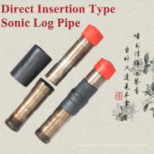Tipo caliente de la inserción directa del vendedor caliente Tubo / tubo de registro / pipa sónica del registro