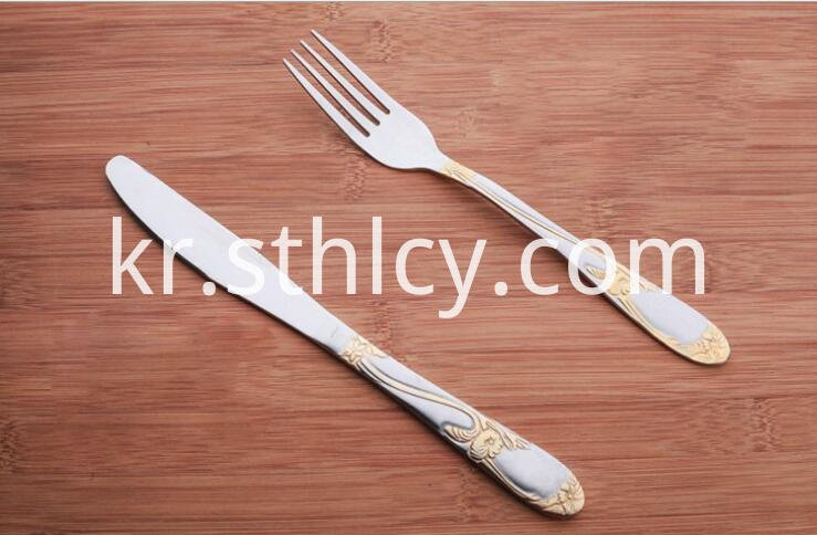 Stainless Steel Knives Forks
