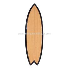 2015 hot selling colorful PU surfboard/wood veneer surfboard