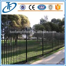 Clôture en acier pour clôture de garnison