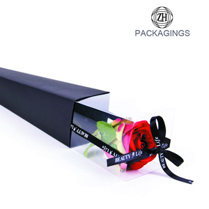 Single Pack Rose Packaging Box for Sale
