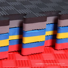 Manufacturer's direct selling eva jigsaw puzzles taekwondo mat