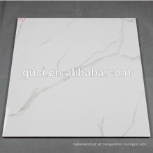 super branco nano porcelanato polido para telha de mármore branco