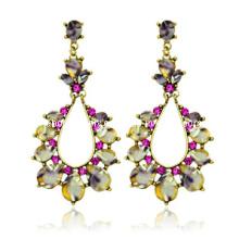 Trendy Bohemia Style Resin Stone Earring (XER13081)