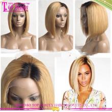 Бразильские человеческие волосы ломбер парик оптом #1Б/613 человеческих волос короткий Боб кружева перед парик