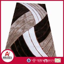 Polyester-Zottelteppiche, Bankett-Hallteppich des modernen Entwurfs, Ausstellungssaalteppich