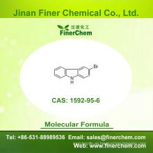 Cas 1592-95-6 | 3 - Bromo - 9H - carbazol | OLED intermedio | 1592-95-6 | precio de fábrica; Gran stock